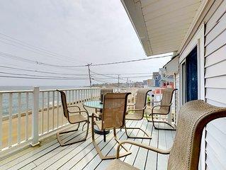 Family-friendly, waterfront getaway w/ balcony, & beach access
