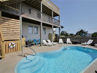 Oceanside in Rodanthe w/HtdPool, Pet Friendly