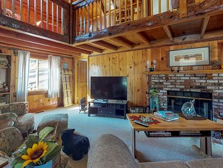 Dog-friendly cabin with great lake and Big Bear access!