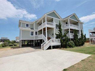 #471: OCEANSIDE in Corolla w/HtdPool, HotTub, Elev., RecRm&Thtre