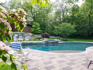 Family friendly home featuring heated pool and hot tub - Sleeps 15