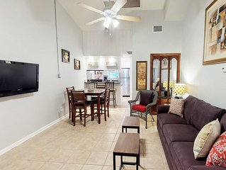 Dog-friendly waterfront condo w/indoor/outdoor pool, steps to beach