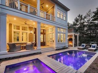Luxury house - private pool 3 blocks to Gulf, Golf Cart, Bikes!