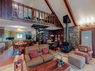 Dog-friendly lakefront home w/ a private hot tub and a dock!