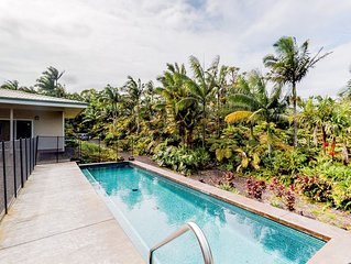 Family friendly paradise w/ a private pool & an orchard for fruit-picking!