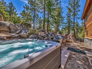 MK486..Secluded Mtn Retreat 2 Miles From Skiing, Casinos & Lake Tahoe's Beach