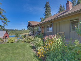 Fully remodeled home on open ranch w/ views of Mt. Hood