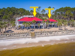 Lighthouse Beach is located on Carrabelle Beach! Beautiful Sunrises and Sunsets!