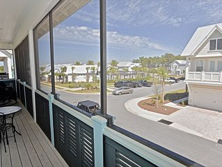 'Beach Beauty' - Prominence -  Backs up to Scenic Highway 30A!-  Easy Pool Acces