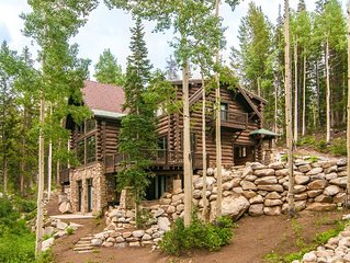 Luxury, ski in/ski out home with hot tub near Brighton Ski Resort.