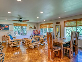 Tropical, family friendly home w/ modern amenities & a furnished lanai