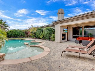 Luxury home in gated community, 1 block from Empire Polo Fields