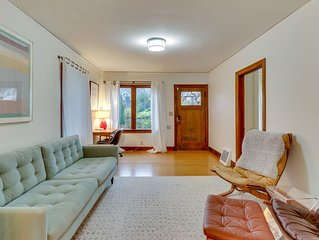 Updated, century-old home w/ deck & enclosed yard - walk everywhere