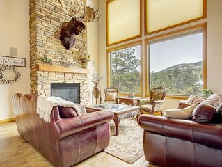 Secluded & Spacious Mountain Getaway