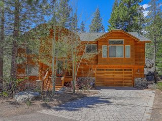 Spacious Home Near Lake Tahoe & Restaurants with Hot Tub and Firepit!