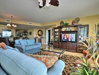 Great View of the Gulf and Lazy River - 55' Smart TV - 1PM Check in Option