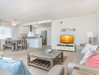 Family Vacation Beach Home (upper unit) - Great Location!
