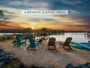 Lakeside Story - 4 SEPARATE SLEEPING AREAS