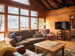 Charming cabin on Lake Michigan - Sleeps 12