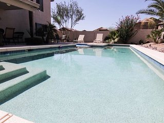 Luxury Peoria 5 Bed 3 Bath Heated pool/Spa  CLOSE TO..I17/101