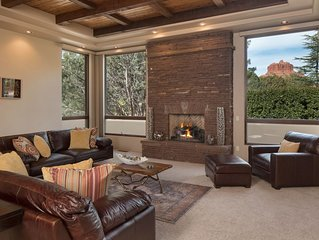 NEW: Luxury Sedona Retreat w/Scenic Red Rock Views