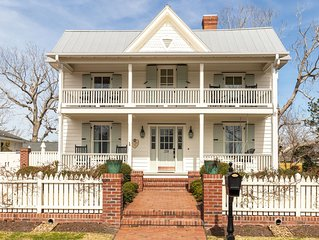 A true one of a kind home!  Luxury retreat in historic downtown Swansboro