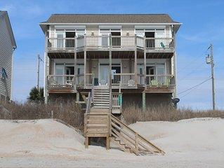 Pristine Oceanfront 4 Bedroom Escape Topsail Island North Caroli