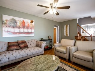 NEW LISTING! Beautiful home centrally located to all of Louisville!  Sleeps 10!
