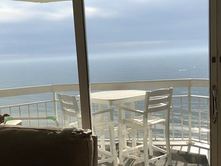 1BR,2BA Oceanfront condo. Remodeled from top to Bottom!  10 % off for Vets!