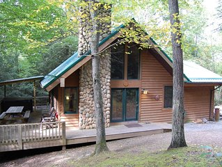 Harvest Moon Cottages beauty in the heart of Hocking Hills