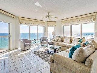 Breathtaking Beach Views, Balcony, Heated Pool