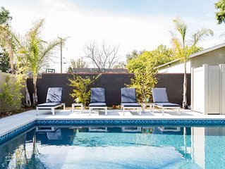 FREE NIGHT!!! Private oasis near the Rose Bowl and Old Town Pasadena