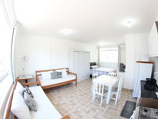 Apartment / Kitchenette w / 4people 2 blocks from