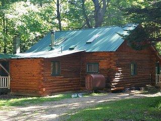 Rustic Log Cabin getaway