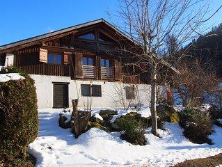 Demi chalet authentique confort Saint Nicolas de Veroce, Mont Blanc. Pres pistes