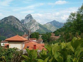 Ideal para descansar en ALLES, uno de los pueblos más bonitos de Asturias.