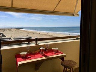 Hossegor plage centrale, magnifique studio classé tout confort vue sur l'océan.
