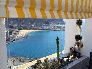 Apartment mit 180 Grad Panorama Meer und Bergblick  im warmen Süden Gran Canaria