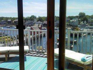 Enchanting Harbor Views - Historic Bradley Wharf Bearskin Neck