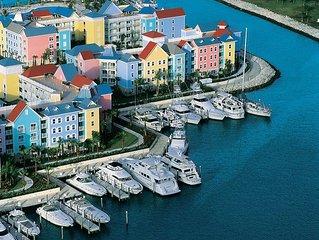 Three bedroom Harborside Villa. All Atlantis access!