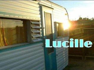 'Lucille' Vintage Glamper Hideaway