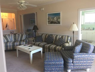 First Floor, Corner Unit (3BR/2B) on Barefoot Landing Golf Resort