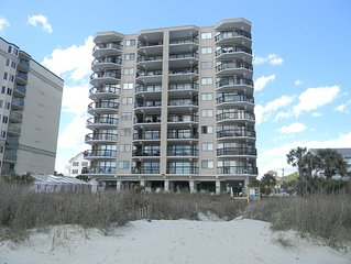 Oceanfront Three Bedroom / Great rates/Aug Daily available