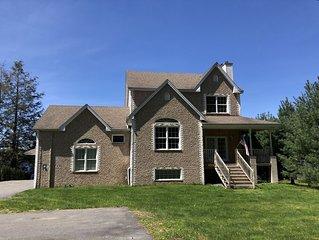 Sackett Lake Front House