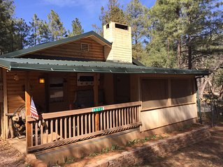 Private Darling Cozy Cabin in The Tonto National Forest