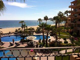 Beautiful Beachfront Condo in Luxurious El Zalate Los Cabos - Ocean Views