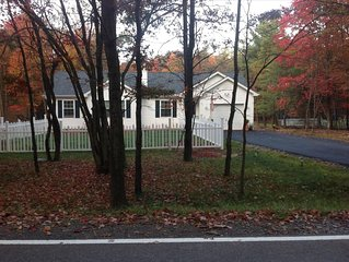 Cozy Pocono Ranch  -  Available all 4 Seasons,