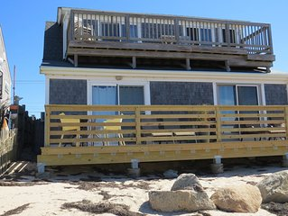 Beachfront Condo with Sweeping Views, Pet Friendly. A/C and free Wifi