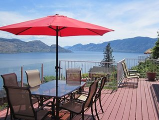 Red Haven Retreat - SPECTACULAR LAKEVIEWS and huge decks - Fairhaven Suite (lowe