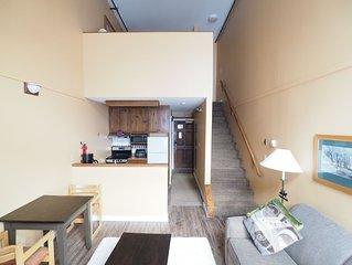 4th floor Apex Inn loft, Mountain Views, sleeps 10